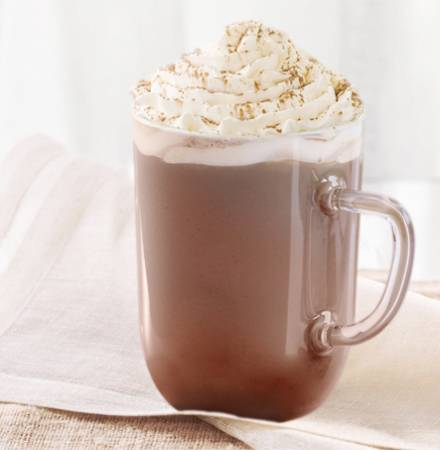 Signature Hot Chocolate (Serving Suggestion)