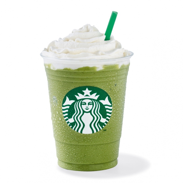 Green Tea Frappuccino 174 Starbucks Coffee Australia