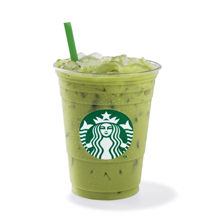 Iced Green Tea Latte Starbucks Coffee Australia