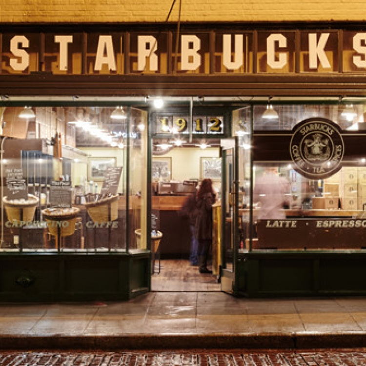 history of starbucks Author, shai fain fall 2011- on march 30, 1971 a small coffee beans retailer shop open its doors to the brisk seattle spring this petite store name was starbucks.